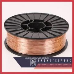 Wire the welding low-carbon Sv-08G2S alloyed by 0,8 - 3,0 mm