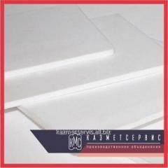 El poliacetal la placa de 20 mm, 1000х1000 mm, ~25 kg