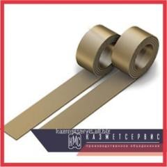 Tape bronze MB of C17200 (ASTM) 0, 50kh300m