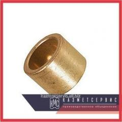 Plug of bronze 55х35х1 mm of BRAZHN10-4-4