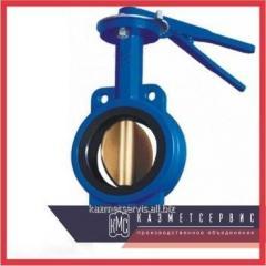 Затвор дисковый DN 65 AISI 304 трехпозиционный мф/мф 4308