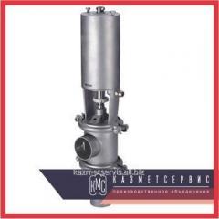 Клапан седельный DN 50 AISI 316L с пневмоприводом