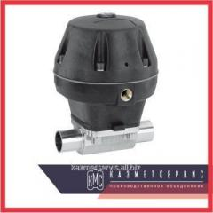 The valve N, membrane with a pneumatic actuator of