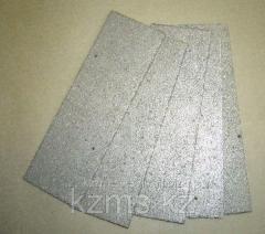 Plates porous titanic PPTS-megapixel TU 14-1-1895-76