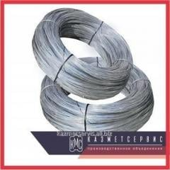 Wire of rope 1,05 mm of GOST 7372-79 galvanized OZh Zh C, the neozinced black ligh