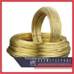 Wire of brass 4 mm of L63T