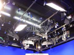 Электроосветительное оборудование для телестудий в