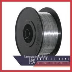 El alambre de 1 mm poligráfico cincado 0Н6 el GOST 7480-73