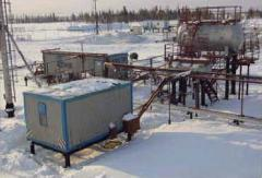 Compressor stations, pumping stations