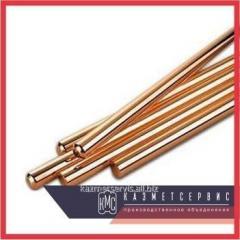 Bar of copper 25 mm of MOB