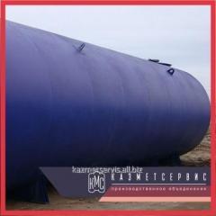Резервуары стальные горизонтальные