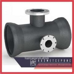 Tee a bell a flange with a fire support of PPTRF