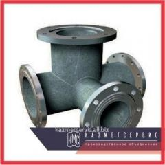Tee flange with a fire support of PPTF 100x100