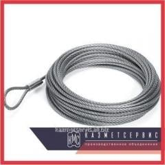 Cable of steel 11,5 mm of GOST 3077-80 of a double twist like LK-O PTM