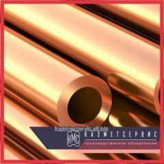 El tubo de bronce 75х17,5 BrAzHMts10-3-1,5