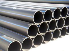 Pipes are polyethylene
