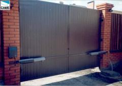 Automatic garage gate in Astana