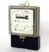 Counter of watt-hours of active energy of