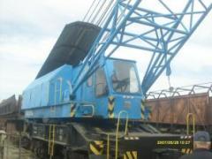 Railway EDK 3002 crane