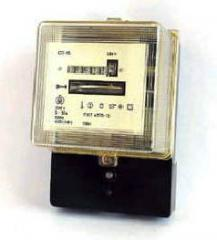 Counter of electric energy single-phase induction,