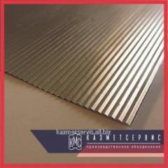 La laminilla de aluminio 0,1х500 А99