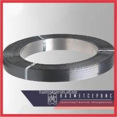 Tape of corrosion-proof 1,2 mm 12X18H10T of GOST 4986-79