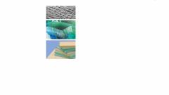 The fiberglass reinforcing materials, Materials
