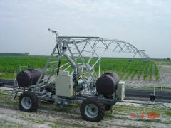 Dozhdevalny equipment for irrigation