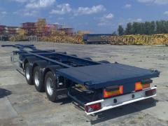 Container carrier, Daxiang semi-trailer