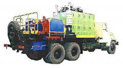 Boring rigs mobile for gas and petroleum industry
