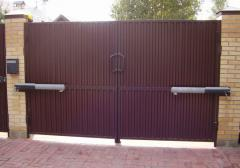 Gate automatic oar to order
