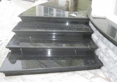 Ladder march with granite steps