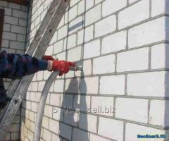 Утепление стен и крыш пеной