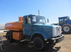 ATZ-7 fuel truck autofuel-servicing truck Zyl, maz