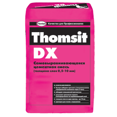 Mixes for alignment of a floor, Thomsit DX. The