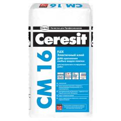 Клей для укладки плитки алматы, Ceresit СМ 16.
