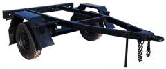 The chassis monoaxial UTS, trucks with a rigid