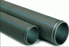 Polyethylene pipes for cable networks