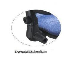 Permanent wave contact for office chair