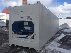 Reefer container (refrigerated, freezing