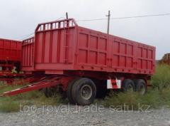 LACQG18Z trailer Three-axis 25th tonic