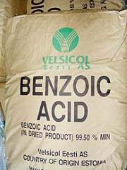 The benzoic acid