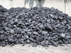 The coal which is packed up in Almaty