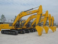 Rent of the excavator 1,2m3 ladle