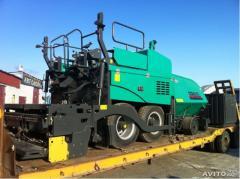 Masini de amplasare stratului de asfalt