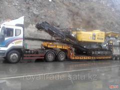 Lastbilar med hård ram