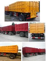 自卸式拖车