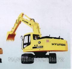 Экскаватор Hyundai R225LC-7