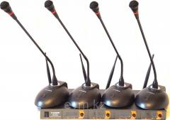 Микрофон настольный радио C-CARDO RX2200-4