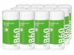 B 60 Desinfektionstücher/B 60 Disinfecting napkins